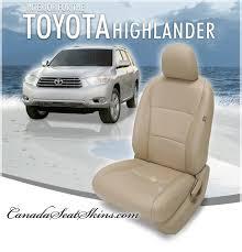 2008 2016 toyota highlander leather interior s