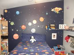 Space Bedroom Wallpaper Outer Space Themed Bedroom