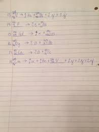 nuclear equations homework key 2 jpg
