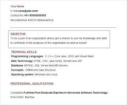 Mba Career Objective For Resume 61 Resume Objectives Pdf Doc Free