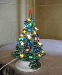 Ceramic Christmas Tree With Bird Lights Ceramic Christmas Tree Lighted Christmas Decoration
