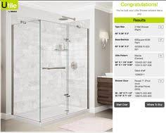 maax utile marble color from designer series with reveal door and chrome finish