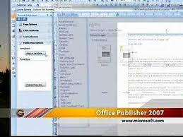 Ms Office Publisher Microsoft Office Publisher 2007 Youtube