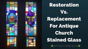 replacing and repairing stained glass on austin churches