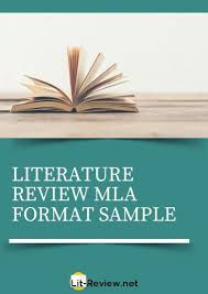 Lit Review Excellent Literature Review Chicago Format Example
