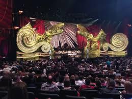 Elton John Million Dollar Piano Seating Chart 1st View Of Stage Picture Of Elton John The Million
