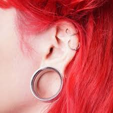 biggest gauge size tired of stretched earlobes theres a fix for that mnn mother