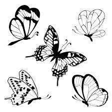 Coloriage Papillons Facile