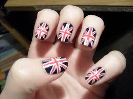 england flag and nail art image