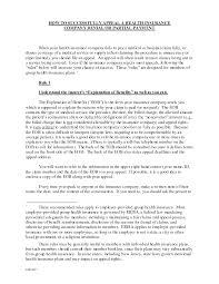 How To Write A Letter Car Insurance Company Appeal Lezincdc Com