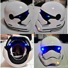 star wars stormtrooper motorcycle helmet dot approved basic
