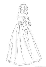 Barbie Doll Coloring Pages Free Printable For Adults Pictures Games