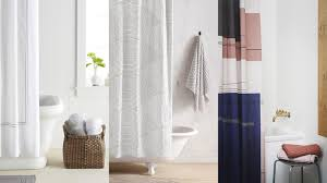 stylish shower curtains for a modern bathroom   stunning homes