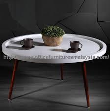 round tray coffee table office furniture malaysia ampang cheras selayang 2