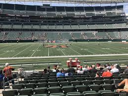 Paul Brown Stadium Section 140 Rateyourseats Com