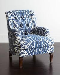 blue and white chair. Blue And White Chair E