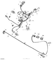 John deere parts diagrams john deere la135 tractor pc9743 wiring harness electrical