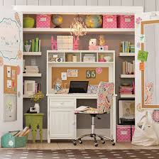 office closets. Closet-office-with-desk-inside Office Closets L