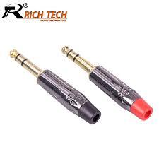 Aliexpress.com : Buy <b>10pcs</b>/lot Jack 6.35mm Connector <b>Gold Plated</b> ...