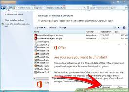 office uninstaller how to uninstall microsoft office 2013 with pictures wikihow
