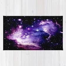 deep purple blue rug