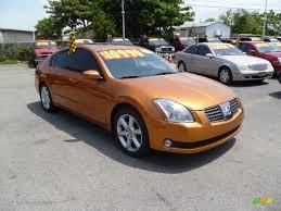 2004 Radiant Ember Nissan Maxima 3.5 SE #49469631 | GTCarLot.com ...