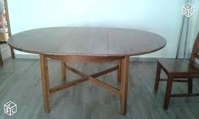 Table De Cuisine Ronde Table Ronde Avec Allonge Lustra Ht 75 Table