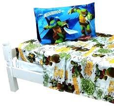Ninja Turtles Toddler Bed Set Teenage Mutant Ninja Turtle Bed Set ...