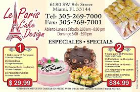 Le Paris Cake Design Bakery Gallery