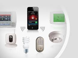 home automation and security system. text and email alerts for home security automation system e