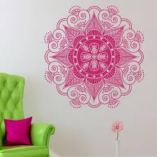 Small Picture Creative New Arrival Buddhist Art Wall Decals India Mandala
