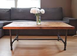 Industrial Looking Coffee Tables Coffee Table Amusing Wood Metal Coffee Table Ideas Reclaimed Wood