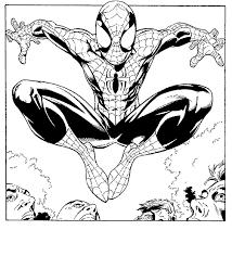 Immagini Da Colorare Di Spiderman Con 76 Disegni Da Colorare Di