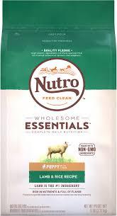 Nutro Wholesome Essentials Puppy Lamb Rice Recipe Dry Dog Food 5 Lb Bag