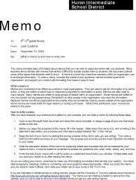 Professional Memo Sample - East.keywesthideaways.co