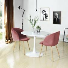 dining room and office. 2pc Silky Velvet Accent Armchair For Small Kitchen Dining Room Office Home Rose And