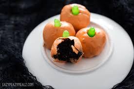 halloween oreo balls. Plain Balls Halloween Truffles Inside Oreo Balls