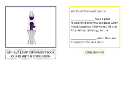 Lava Lamp Science Fair Project Mesmerizing LAVA LAMP EXPERIMENT Question 32 What Will Happen When Ppt Video