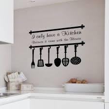 fresh black and white kitchen wall decor 3