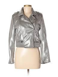 pin it zara trf women faux leather jacket size l