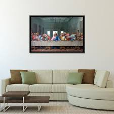 the last supper multi panel canvas wall art on large last supper wall art with the last supper multi panel canvas wall art elephantstock
