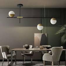 modern 3 lights led ceiling lighting