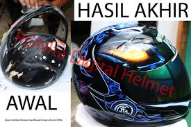 Maybe you would like to learn more about one of these? Helm Unik Kreasi Sendiri Custom Helmet For Your Safety Style