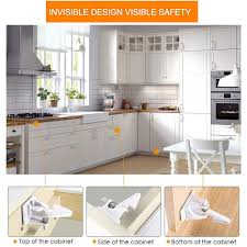 Cabinet Locks Child Safety Latches Invisible Design Quick And Easy