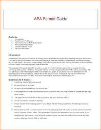 Paper Formats Apa 007 Research Paper Guidelines Writing Apa Museumlegs