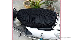 motorcycle breathable heat shield cooling seat cover size 2xl