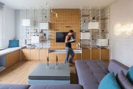 This Apartment Interior Is Filled With Creative Storage And Decor Classy Apartment Decoration Creative