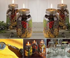 Diy Decorative Mason Jars Ideas DIY Mason Jar Oil Candles 61