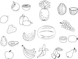 Coloriage De Fruits Imprimer Dessin De Fruit A Imprimer L