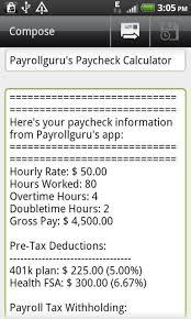 Texas Hourly Wage Calculator Salary To Hourly Paycheck Calculator